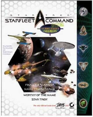 Strek Trek Starfleet Command Official Strategies And Secrets Soft Cover