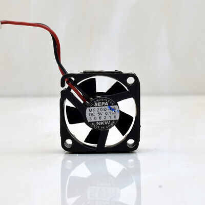 1pcs  SEPA MF20D-05 2CM 2010 5V 0.11A Silent Ultra-Micro Cooling Fan