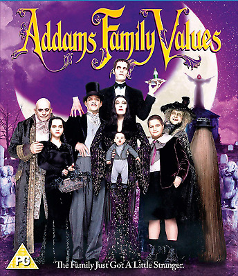 Addams Family Values [DVD] New Sleeve  Region 2