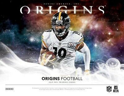Detroit Lions - 2019 Panini Origins Football Half Case 8Box Break #2!