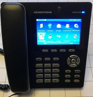 Grandstream GXV3140 Multimedia VoIP  Video Phone Skype