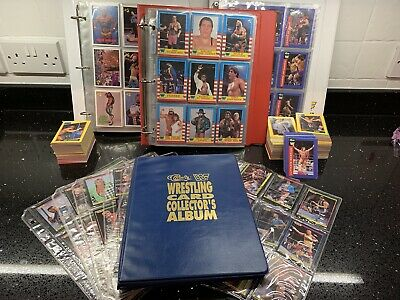 Rare Vintage WWF Trading Cards Merlin/ Classic/ Gold/ Classic Wrestlemania - WWE