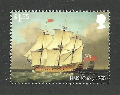 Gb 2019 Royal Navy Ships Nelson Victory Military Single Value From Set Mnh