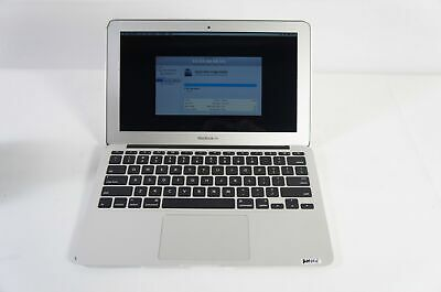 AS IS Apple Macbook Air 11 A1370 MC968LL/A i5 1.6GHz 4GB RAM 128GB SSD 2011 READ