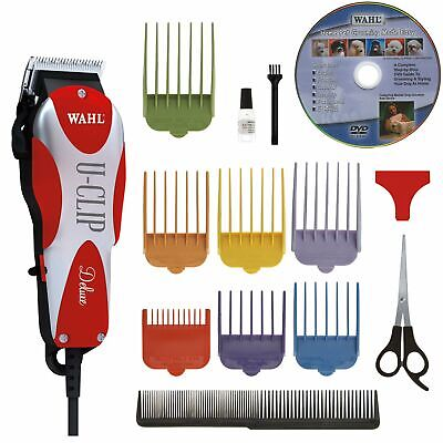 Wahl Professional Animal Deluxe U-Clip Pet, Dog, and Cat Clipper and Grooming ..