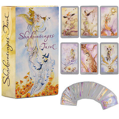 78 cards Shadow Escape Tarot Card Decks Antique Future Telling Cards Toys Gifts
