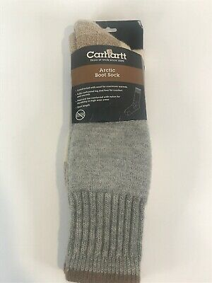 Mens Arctic High Wool Thermal Boot Socks Cold Weather Fast Dry Odor Control GFK
