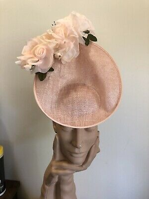 Wendy White Millinery Melbourne Cup Pretty And Pink Tear Drop