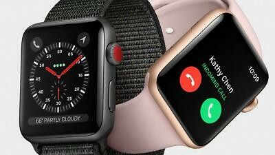 Apple Watch Series 3 38MM 42MM SmartWatch (GPS + Cellular) Nike+ Stainless