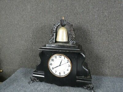 "William Gilbert Mantle Clock "" Curfew ""  Bell on Top  for  restoration"
