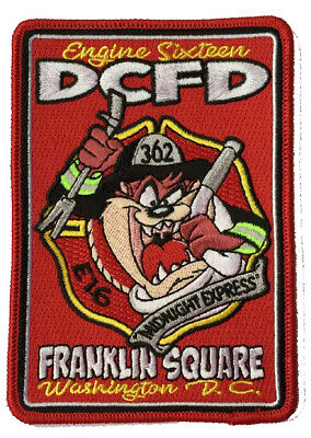 """DCFD Engine 16 """"Midnight Express"""" Franklin Square"""" Fire Patch"""