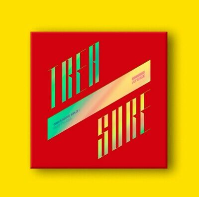ATEEZ TREASURE EP.3 : One To All Illusion CD+P.Book+P.Card+Post+Sticker+F.Poster