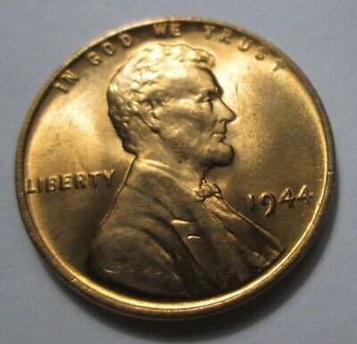 1944-P Lincoln Wheat Cent Penny - BU Uncirculated