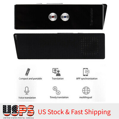 Smart Speech Voice Translator Portable MultiLanguage Pocket Translator