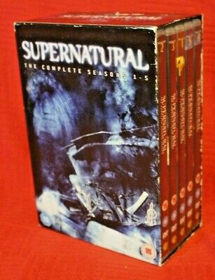 Supernatural - Complete Seasons 1-5 DVD Box Set Series One Five FREE Postage