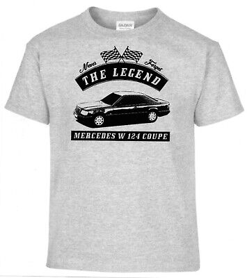 T-Shirt, Mercedes W 124 Coupe, Auto,Oldtimer,Youngtimer