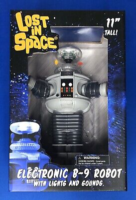 Lost in Space - Electronic B-9 Robot w/ Lights/Sounds 11-inch Diamond Select B9
