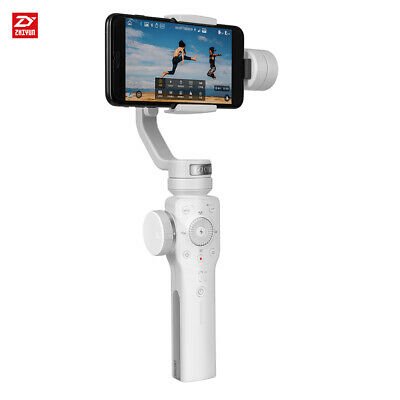 Smooth 4 3-Axis Handheld Gimbal Stabilizer Objecting Tracking for iPhone X T7G4