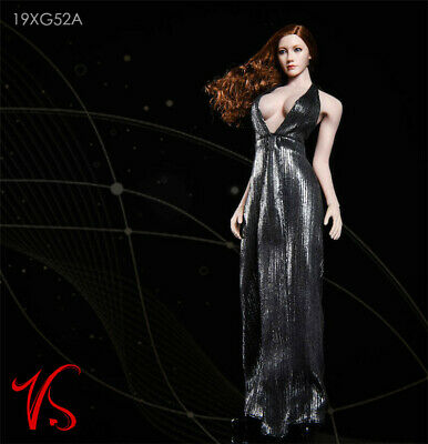 1//6 FASToys FA18-02 Low-cut Evening Dress Clothing Set Fit 12/'/' Female Body