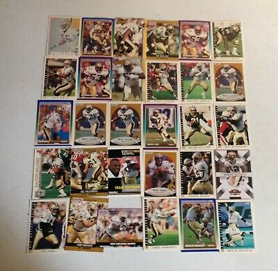 Various New Orleans Saints Nfl/American Football Trading Cards