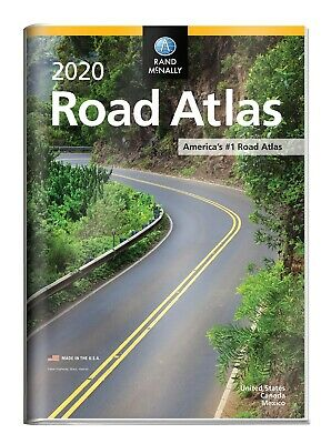 Rand McNally 2020 Road Atlas with Protective Vinyl Cover (Rand McNally Road Atla