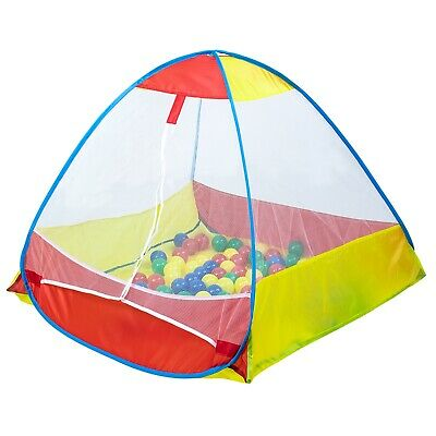 Ball Pit Tent KIDS 100 x 100 x 75cm Play Equipment with Balls indoor or outdoor
