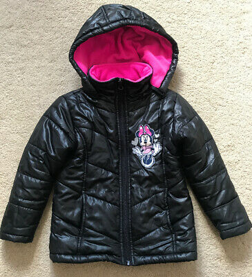 Minnie Mouse Girls Coat Size 4 Years