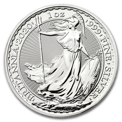 NEW - 10 x 1oz silver Britannia 2020 - UK seller - no import charges - in stock