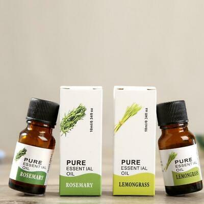 10ml 100% Pure Natural Essential Oils Carrier Oil Aromatherapy Grade-Health N9J2