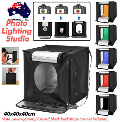 40cm Portable Mini Photo Studio Shooting Tent Cube Light Soft Box Photography AU
