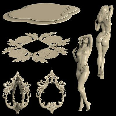 3D STL Models # THE TABLE 7 # for CNC Aspire Artcam 3D Printer 3D MAX Rhino