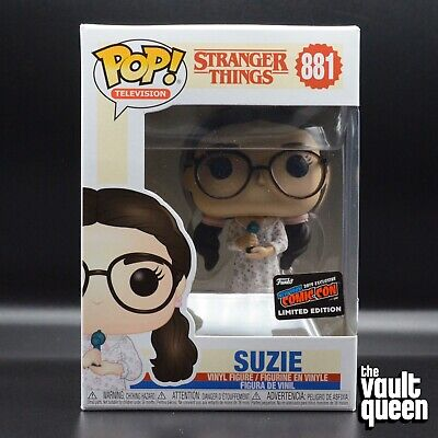 Funko Pop Television Stranger Things Suzie NYCC 2019 Official Convention Sticker