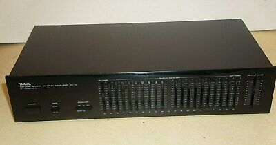 Yamaha 20-Band Natural Sound Graphic Equalizer Stereo EQ-70 Made in Japan