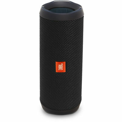 JBL - Flip 4 Portable Bluetooth Speaker - Black
