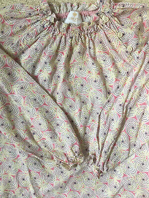 Girls Liberty Of London Liberty Print Blouse Age 4 Oliver Baby Trotters Perfect