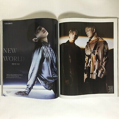 VICTON Cuttings 8Pages Magazine Clippings Singles Korea Oct 2019 K-POP Star