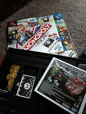 Monopoly Gamer Mario Kart Race for the Highest Score Board Game