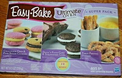 1 box (12 Mixes Total ) Easy Bake Oven Ultimate Refills Super Packs