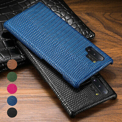 Luxury Genuine Leather Slim Case Cover For Samsung Galaxy Note 10 Plus 9 8 S10