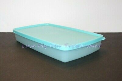 Tupperware Freeze-It Plus Shallow Stain Resistant 2.5-cup in Aquamarine New