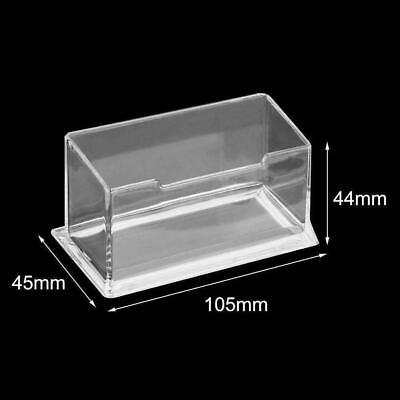 Transparent Table Business Card Holder Display Stand Shelf Acrylic Plastic J1G3