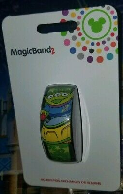 New Disney Parks Toy Story Alien Swirling Saucers Magic Band 2 LINK IT LATER