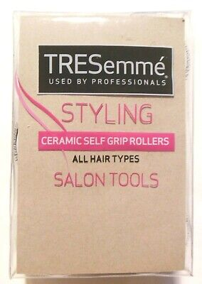 Tresemme Salon Ceramic Self Grip Rollers - Pack of 18 All Hair Types