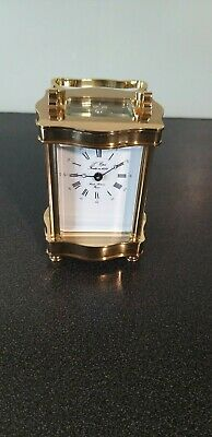 8 day L'Eppe Carriage clock timepiece