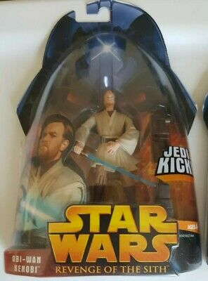 STAR WARS ROTS Revenge of Sith Action Figure OBI-WAN KENOBI