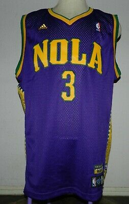 New Orleans Hornets Mardi Gras Youth Jersey 30 David West