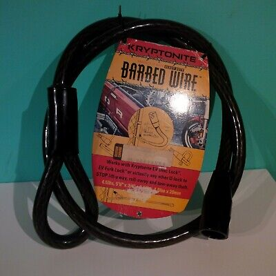 Kryptonite Barbed Wire Heavy Duty  Security Cable For Motorcycle Or General Use