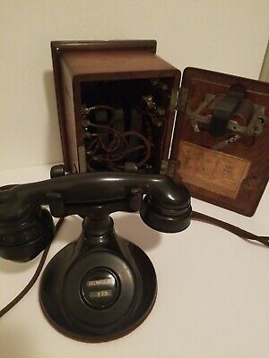 Antique Western Electric telephone Greenwood Lake N.J.