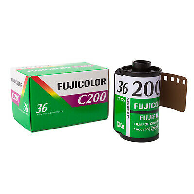 Fujifilm FujiColor C200 CA 35mm Color Negative 36 exp Film FRESH DATE