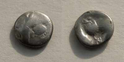 Celtic Silver Drachm - Eastern Celts - RARE Ancient Coin